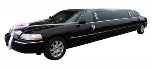Black Lincoln Town for 8 From Calgary A-1 Limo Service Wedding Limo