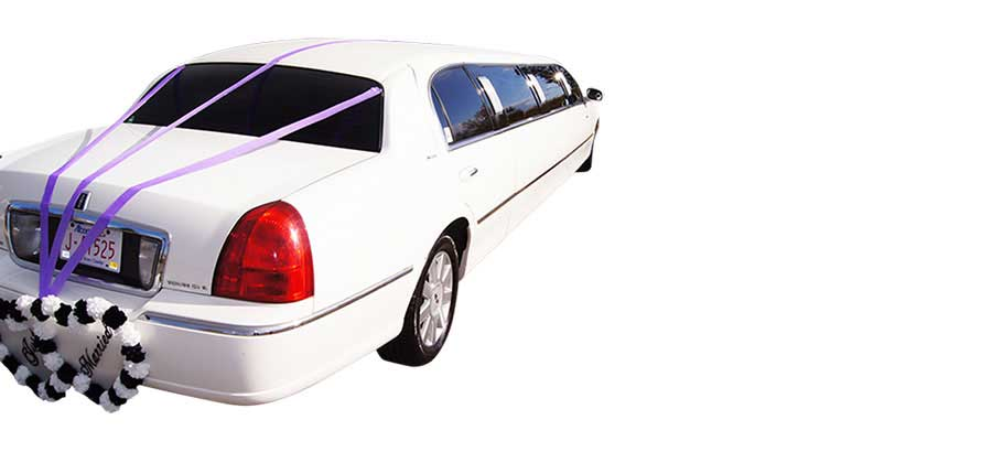 White Limo for 8 people from A-1 Limo & Sedan Calgary