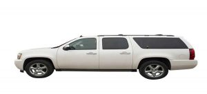 White Suburban from A-1 Limo Calgary- Ideal for Long Trips