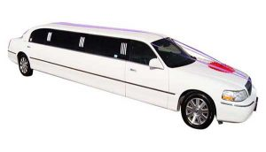 Wedding White Limo from A-1 Limo & Sedan Calgary